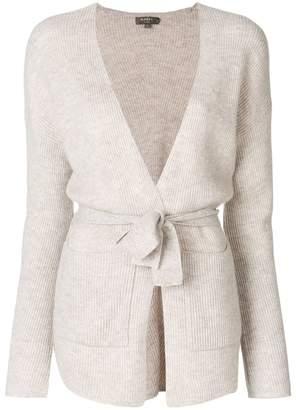 N.Peal belted cardigan