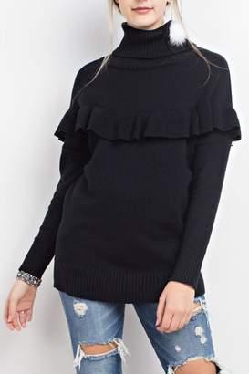 Easel Ruffled Sweater