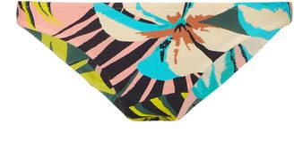 Salinas Laura Pink Floral Bikini Bottom