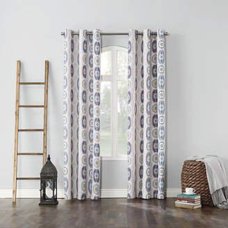Sun Zero Sun ZeroTM Jeremy Thermal Lined Grommet-Top Curtain Panel