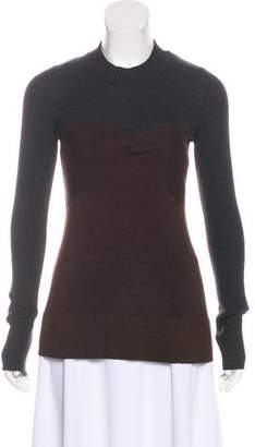 Proenza Schouler Long Sleeve Knit Top
