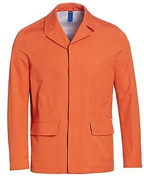 Saks Fifth Avenue Notch Collar Rain Coat