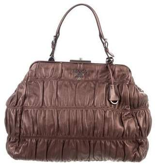 d97c26f2c768 Prada Bag With Metal Handle - ShopStyle