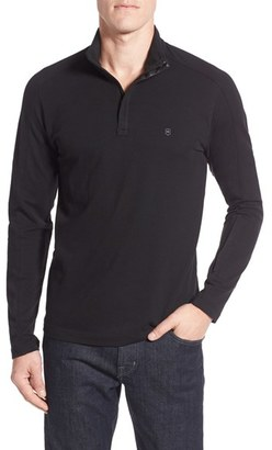 Men's Victorinox Swiss Army Uhrmacher Long Sleeve Quarter Zip Pullover $115 thestylecure.com