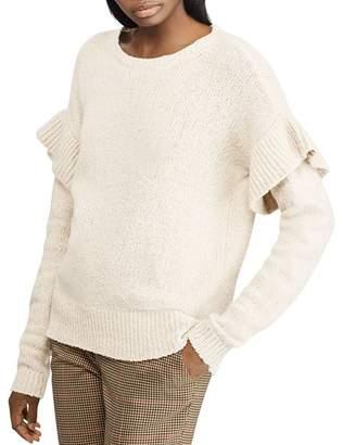 Ralph Lauren Ruffle-Sleeve Sweater
