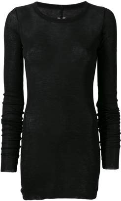 Rick Owens fitted short dress