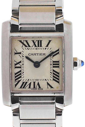 One Kings Lane Vintage Cartier Tank FranAaise Ladies Watch - BRP Luxury/OKL