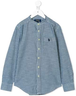 Ralph Lauren striped chambray shirt