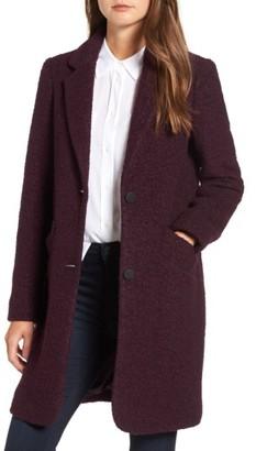 Women's Andrew Marc Paige Wool Blend Boucle Coat $198 thestylecure.com