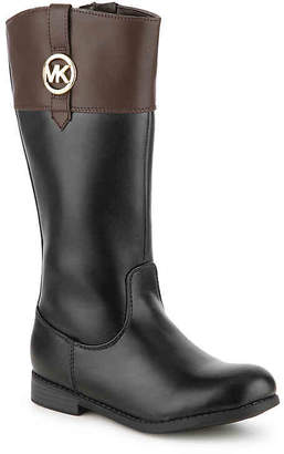 MICHAEL Michael Kors Emma Kelly Toddler & Youth Riding Boot - Girl's