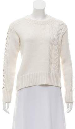 Edun Embellished Wool Knit Sweater