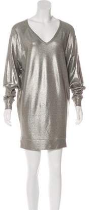Jean Paul Gaultier Soleil Metallic Mini Dress