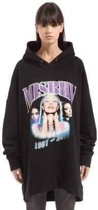 Misbhv Logo Printed Cotton Jersey Sweatshirt