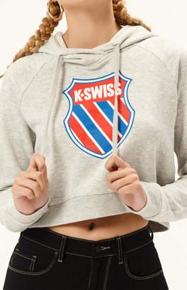 K-Swiss K Swiss Grind Cropped Hoodie