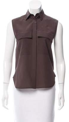 Belstaff Silk Sleeveless Top