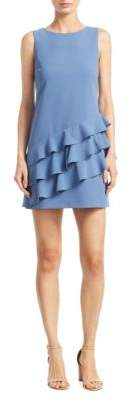 Alice + Olivia Clive Asymmetric A-Line Dress