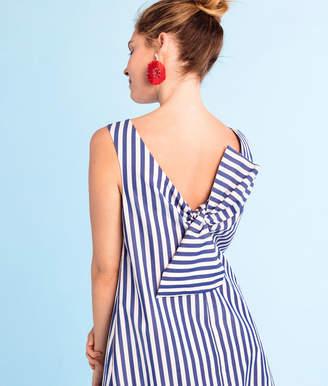 Vineyard Vines Beachcomber Stripe Bow Back Dress
