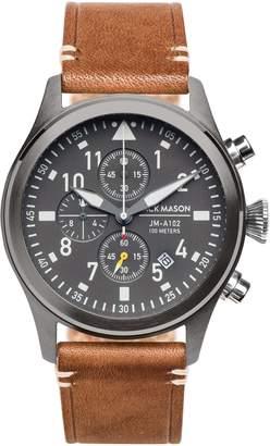 Jack Mason Brand Aviation Chronograph Watch, 42mm