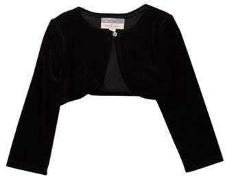 Pippa Pastourelle by and Julie Velvet Rhinestone Shrug (Toddler & Little Girls)