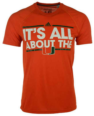adidas Men's Miami Hurricanes Dassler Local T-Shirt