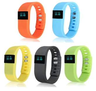 Geneirc TW64 USB Bluetooth Pedometer Smart Wrist Watch Bracelet Waterproof for Android IOS