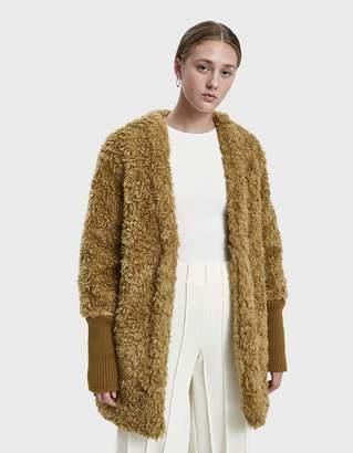 Low Classic Faux Fur Coat
