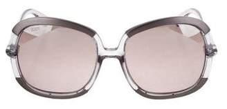 Tod's Square Oversize Sunglasses
