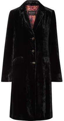 Etro Velvet Coat - Black