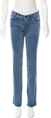 Prada Sport Low-Rise Straight-Leg Jeans w/ Tags