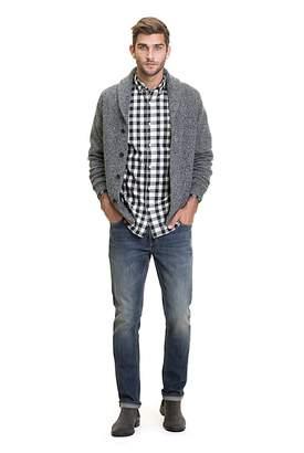 Regular Melange Gingham Shirt