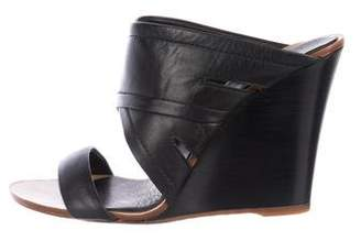 Rag & Bone Leather Slide Wedge Sandals