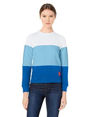 Calvin Klein Women's Institutional Logo Crew Neck Sweatshirt