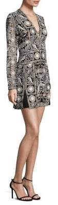 Thurley Embroidered Mini Shift Dress