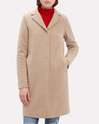 Harris Wharf London Polaire Camel Coat