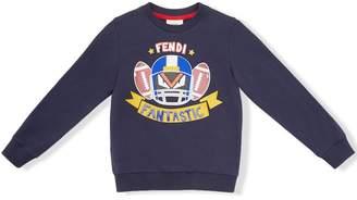 Fendi Kids Fantastic print sweatshirt