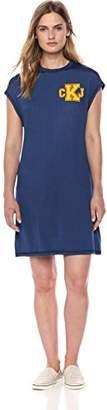 Calvin Klein Jeans Women's Crew Neck T-Shirt Dress