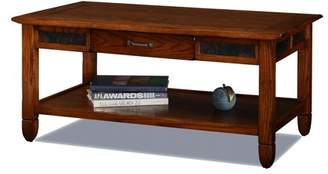 Leick Home Rustic Oak Coffee Table