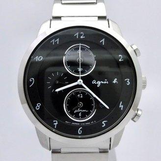 agnès b. (アニエス ベー) - アニエスベー agnesb マルチェロ クロノグラフ ソーラー FBRD974 [国内正規品] メンズ 腕時計 時計
