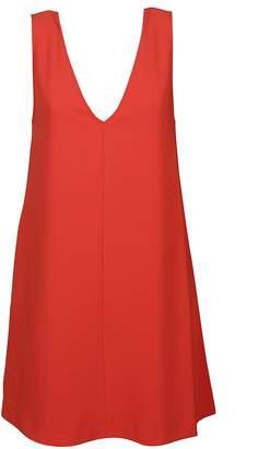 Theory V-neck Sleeveless Dress