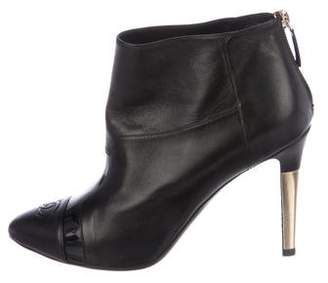 Chanel CC Ankle Boots