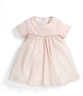 Mamas and Papas Baby Girls 0-24m Velvet & Sparkle Tulle Dress