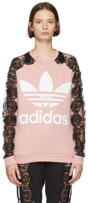 Stella McCartney Pink adidas Edition Lace Sweatshirt