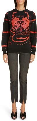 Givenchy Gemini Print Sweatshirt