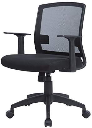 MR Direct Office Chair Mid Back Swivel Lumbar Support Desk Task Chair