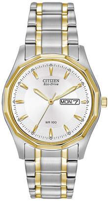 Citizen Eco-Drive Mens Two-Tone Watch BM8434-58A