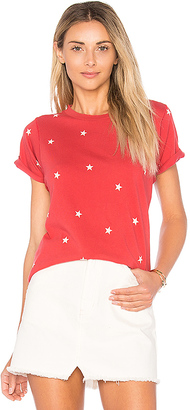 Wildfox Couture Football Star Tee in Red $68 thestylecure.com