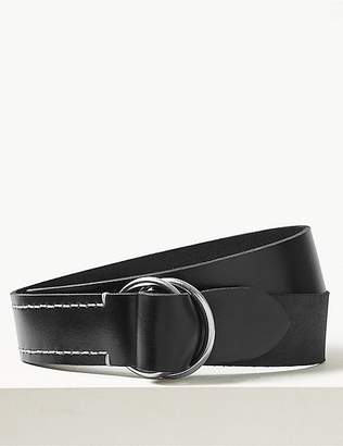 Marks and Spencer Leather Ring Buckle Hip Belt