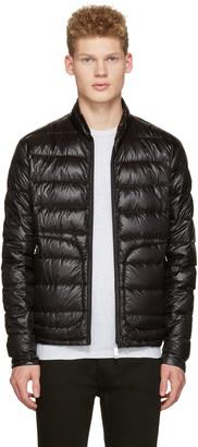 Moncler Black Down Acorus Jacket $745 thestylecure.com