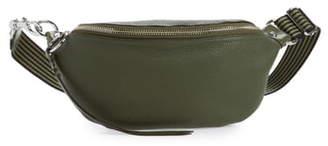 Rebecca Minkoff Bree Web Strap Leather Belt Bag