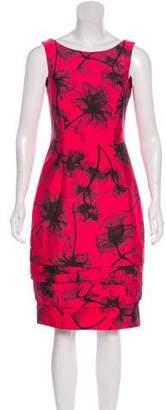 Jason Wu Printed Knee-Length Dress